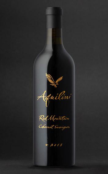 Aquilini 2018 Cabernet Sauvignon - Red Mountain Wines - Aquilini Wines