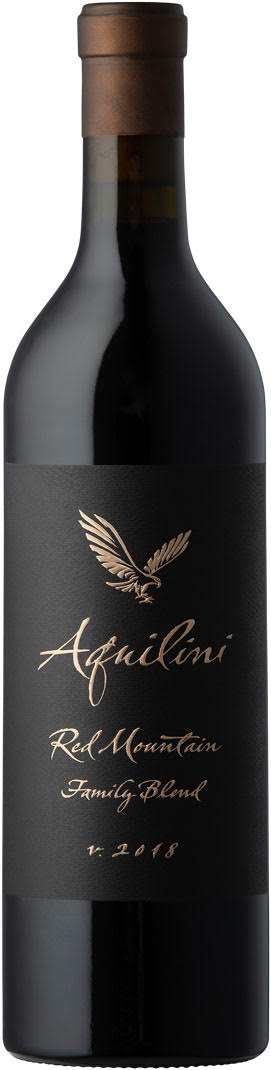 Aquilini 2018 Family Blend - Red Mountain Wine - Aquilini Wines