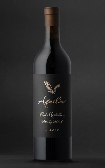 Aquilini 2018 Family Blend - Red Mountain Wines - Aquilini Wines